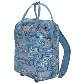 Bagaglio Donna Cath Kidston Frame Wheeled Backpack - Blue