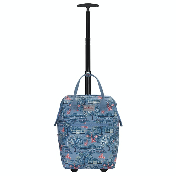Cath Kidston Frame Wheeled Backpack Kvinner Bagasje