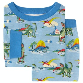 Cath Kidston Long Sleeve Jersey Kid's Pyjamas - Aqua