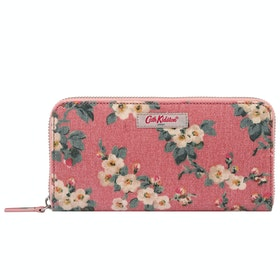 Cath Kidston Continental Zip Womens ウォレット - Dusty Pink
