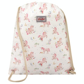 Cath Kidston Drawstring Kid's Gym Bag - Oyster Shell