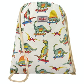Cath Kidston Drawstring Kid's Gym Bag - Skateboard Dino