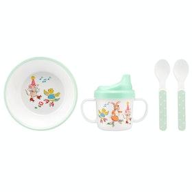 Crockery Set Cath Kidston Melamine Nursery Set - Mint