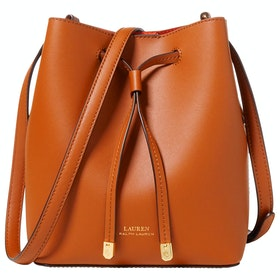 Lauren Ralph Lauren Debby Ii Drawstring Mini Women's Handbag - Brown