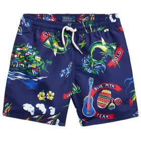 Polo Ralph Lauren Captiva Tropical Trunk Swim Shorts - Ralph-waiian