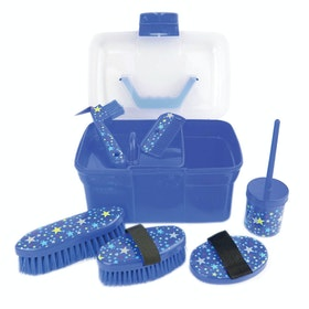 Lincoln Star Pattern Grooming Kit - Navy