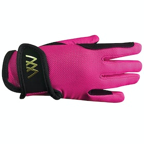 Woof Wear Young Rider Pro Riding Gloves - Berry