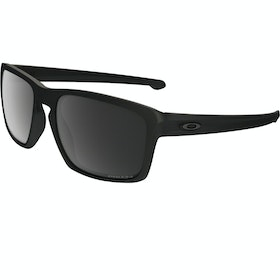 Oakley Sliver Polarised Sunglasses - Matte Black ~ Prizm Black