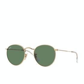 Ray-Ban Round Metal Sonnenbrille - Arista ~ Crystal Green