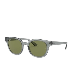 Ray-Ban 0rb4324 Sunglasses - Trasparent Grey~green