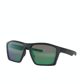 Occhiali da Sole Oakley Targetline - Matte Black ~ Prizm Jade Polarized