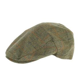 Barbour Crieff Men's Cap - Olive Plaid
