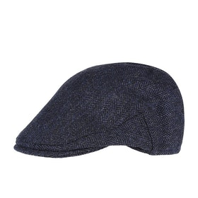 Czapka z daszkiem Męskie Christys Hats Balmoral Tweed - Navy Country Tweed