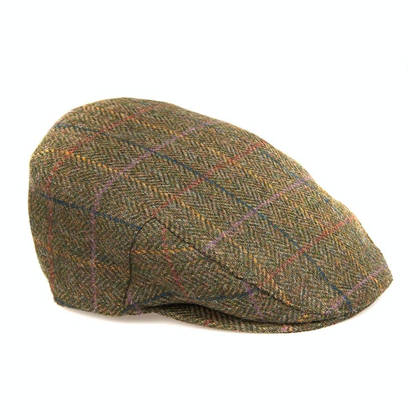 Barbour Moons Tweed Flat Men's Cap
