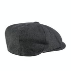 Christys Hats 8 Piece Baker Boy Melton Wool Flat Men's Cap
