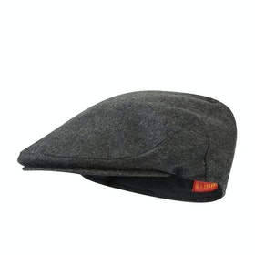 Cappello Christys Hats Balmoral Cashmere Flat - Grey Mix