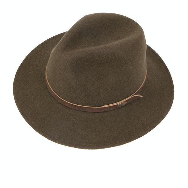 Cappello Christys Hats Crushable Safari Stock Felt