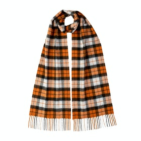 Johnstons Of Elgin 100% Cashmere New Size Tartan Scarf - Dutch Dress