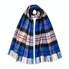Johnstons Of Elgin 100% Cashmere Oversized Tartan Scarf