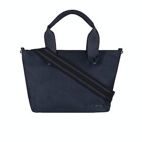 Ted Baker Macieyy plain Small Nylon Tote Damen Einkaufstasche - Dark Blue
