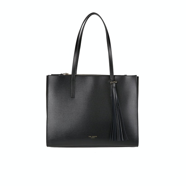 Ted Baker Narissa Leather Tassel Detail Large Tote Women's Shopper Bag