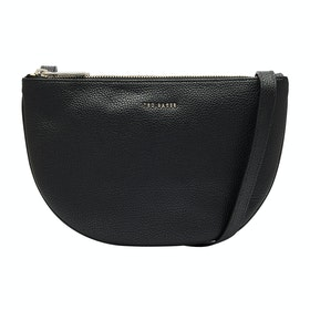 Borsa a Mano Donna Ted Baker Stelaah Curved Leather Xbody - Black