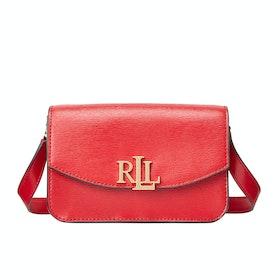 Borsa a Mano Donna Lauren Ralph Lauren Madison 18 Crossbody Small - Red