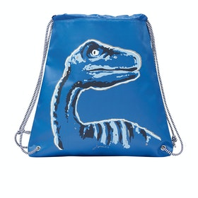 Joules Active Boy's Gym Bag - Blue Dinosaur