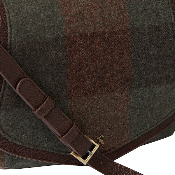 Joules Avebury Tweed Dames Saddle Bag