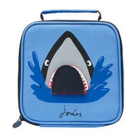 Joules Munch Boy's Lunch Bag - Blue Shark