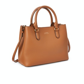 Lauren Ralph Lauren Marcy Ii Women's Satchel - Brown