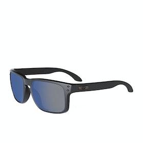 Okulary przeciwsłoneczne Męskie Oakley Holbrook Polaryzacyjne - Matte Black ~ Ice Iridium