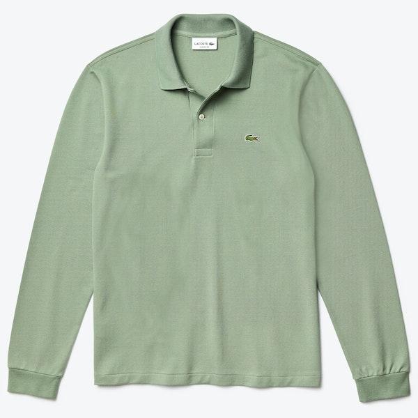 Lacoste Basic Long Sleeved Pique , Polojumper Mäns