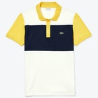 Polo Lacoste Ribbed Collar