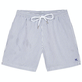 Maison Labiche Bathing Suit Ml Men's Swim Shorts - Navy White