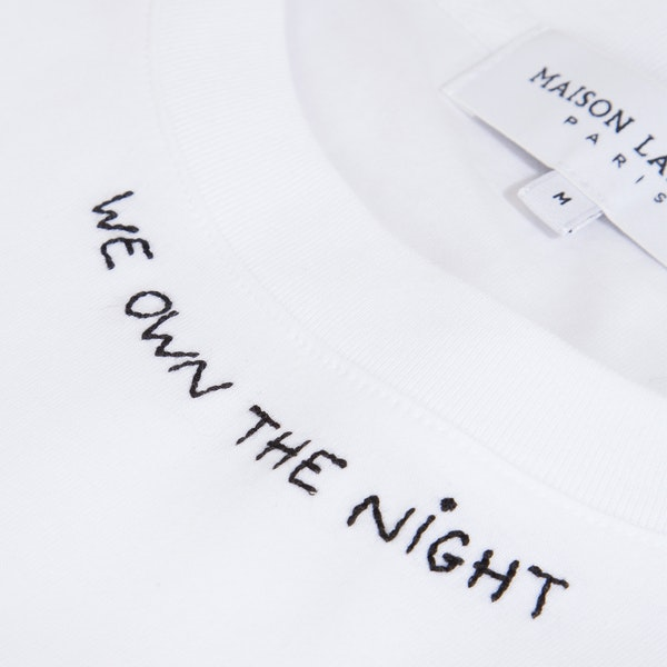 Maison Labiche We Own The Night Heavy Herren Kurzarm-T-Shirt