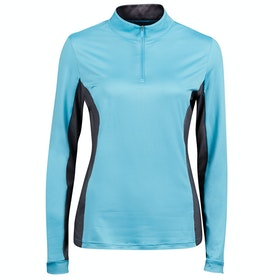 Dublin Airflow Cdt Long Sleeve Tech Ladies Top - Bachelor Blue
