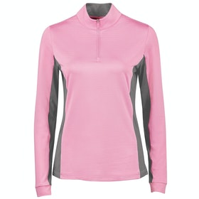 Dublin Airflow Cdt Long Sleeve Tech Dames Top - Fuchsia Pink