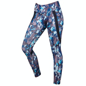 Dublin Camo Equestrian Performance Active Ladies Riding Tights - Carbon