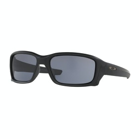 Óculos de Sol Oakley Straightlink - Matte Black ~ Grey