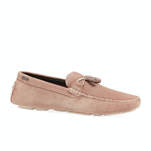 Dress Shoes Ted Baker Erbonn Suede Tassel Trim Moccasins