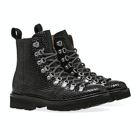 Grenson Nanette Women's Boots - Black Snake Print