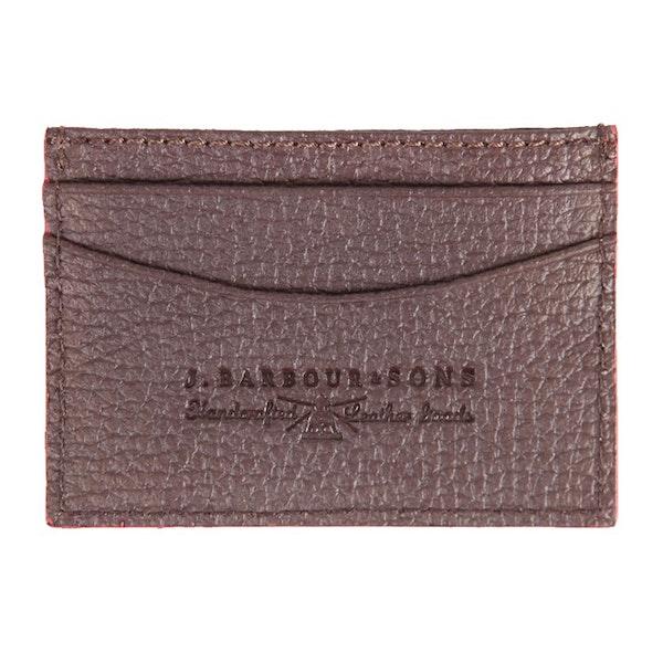 Barbour Leather Grain Men's Card Holder