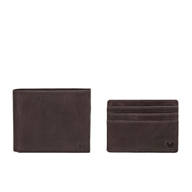 Country Attire Fulham Card Holder and Wallet - Brown