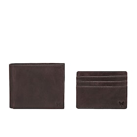 Country Attire Fulham Card Holder and Brieftasche - Brown
