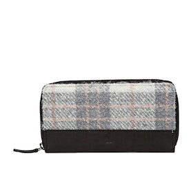 Country Attire Bexley Women's Purse - Grey And Pink