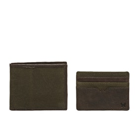 Country Attire Fulham Wallet - Olive