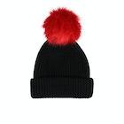 BKLYN Merino Faux Fur Pom Women's Beanie