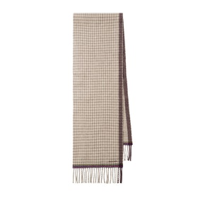Paul Smith Dble Check Scarf - Tan