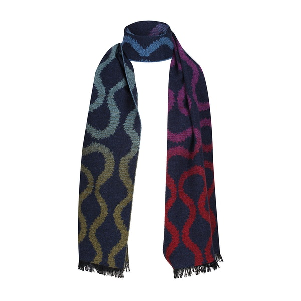 Vivienne Westwood Fire Squiggle Scarf